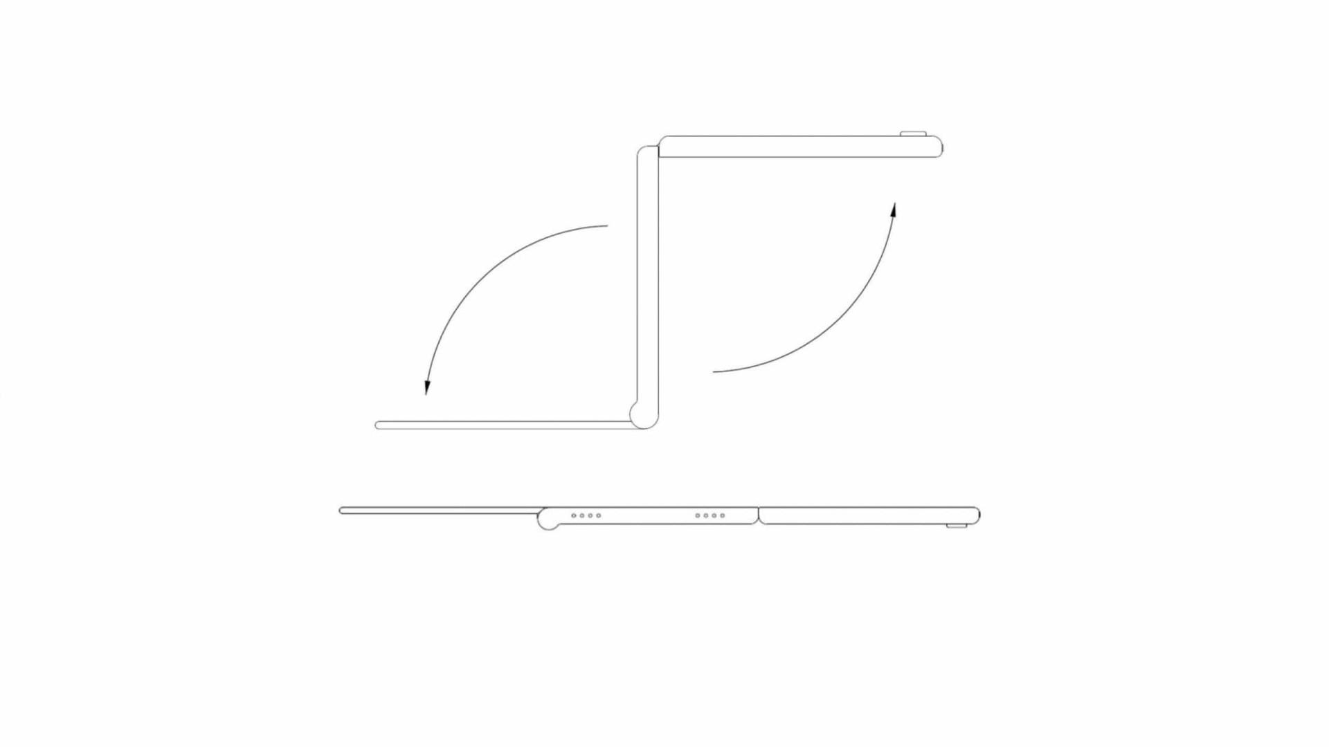 Patente mostra como poderá ser o smartphone dobrável da LG