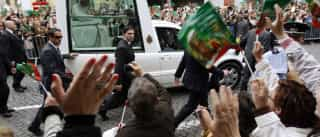 INEM ainda não recebeu pela assistência na visita do Papa em 2010