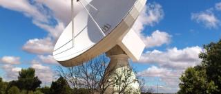 Nova antena para rastreio de satélites da Agência Espacial Europeia instalada nos Açores