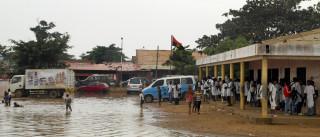 Época das chuvas matou 270 pessoas em Angola