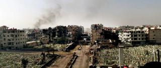 Primeira coluna do Crescente Vermelho entra na cidade rebelde de Daraya