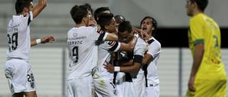 Vitória de Guimarães vence em Paços de Ferreira por 3-1