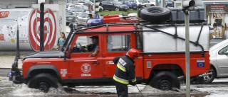Alerta: Há risco de inundações e cheias devido à chuva e trovoada