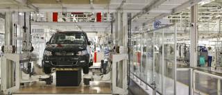 Fábrica da Autoeuropa reduz hoje laboração para um turno diário