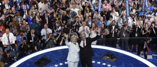 Apoiantes e adversários reagiram no Twitter a discurso de Hillary