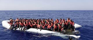 Cerca de 1.100 imigrantes resgatados por Itália no Mediterrâneo
