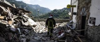 Pelo menos oito estrangeiros mortos no sismo em Itália
