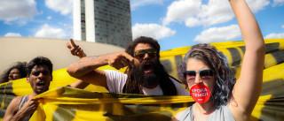 Quatro detidos em protestos em São Paulo contra destituição de Dilma