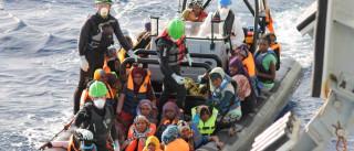 Pelo menos 156 desaparecidos em naufrágio no Mediterrâneo