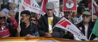 Reformados concentram-se em Lisboa para exigir melhores pensões