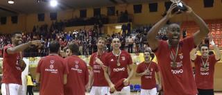 Benfica conquista sexta Supertaça consecutiva de voleibol