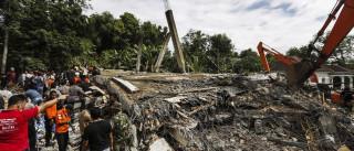 Pelo menos 54 mortos após sismo na Indonésia