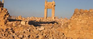 """Palmira: Unesco classifica como """"crime de guerra"""" destruição de tesouros"""