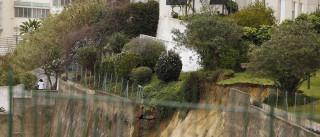 Terra continua a deslizar nas traseiras da Damasceno Monteiro
