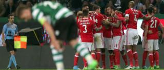 Três detidos e um ferido ligeiro durante o jogo Sporting-Benfica