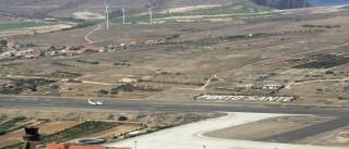 Boeing 737-400 com destino a Cabo Verde teve de aterrar em Porto Santo