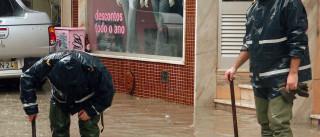 Chuva intensa provoca inundações em várias freguesias do Seixal