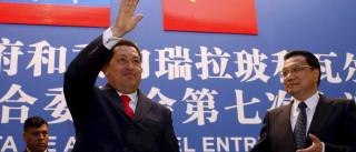 China está a suspender empréstimos ao governo venezuelano