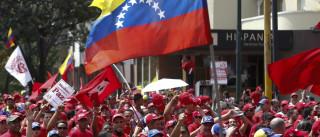 Ruas quase 'fantasma' no início de greve geral na Venezuela