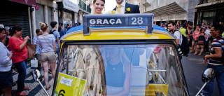 Portugueses aproveitaram 'borla' dos tuk-tuk e ficaram fãs do transporte