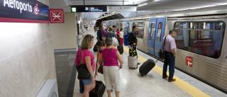Câmara quer prolongar Linha Vermelha do aeroporto até ao Campo Grande