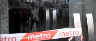 Rutura de conduta de água condiciona circulação do Metro em Lisboa