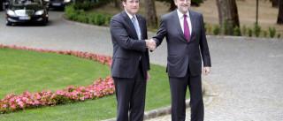 Passos Coelho e Rajoy evitam falar com jornalistas convocados para evento