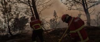 Manteigas: Combate às chamas suspenso por más condições do terreno