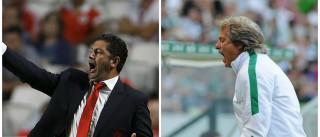 Benfica e Sporting discutem hoje na Luz a liderança da I Liga