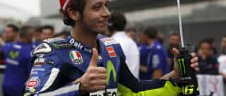 Valentino Rossi já teve alta hospitalar