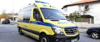 Colisão entre ligeiros e autocarro provoca seis feridos em Guimarães