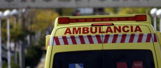 Colisão entre ambulância VMER e ligeiro faz um ferido grave em Ovar