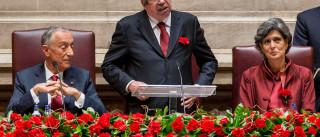 Ferro Rodrigues na sessão solene dos 40 anos da autonomia dos Açores