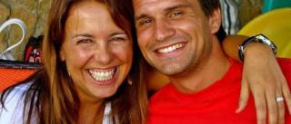 Tânia Ribas de Oliveira celebra aniversário de casamento
