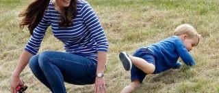 """Kate Middleton revela que George é """"desarrumado"""""""