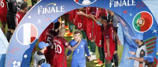 """Griezmann define assim derrota no Euro: """"Remataram uma vez e foi isso"""""""