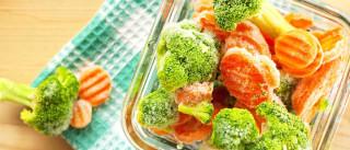 É saudável congelar frutas, verduras e legumes?