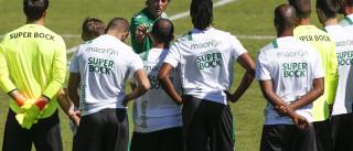 Sporting prepara jogo com o Légia com seis jogadores da equipa B