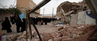 Ataque aéreo faz pelo menos sete mortos civis no Iémen