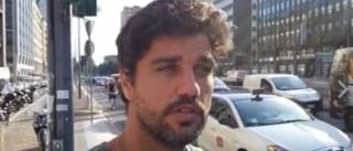 Bruno Cabrerizo surpreendido com ameaça de bomba em Milão
