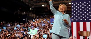 É oficial: Hillary Clinton é a candidata dos democratas