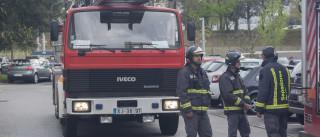 Derrocada de casa no Porto deixa uma pessoa soterrada no interior