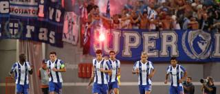 Venham os milhões. FC Porto vence em Roma e está na Liga dos Campeões