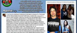 A história das três brasileiras cujo rasto era procurado por familiares