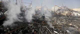 Incêndio num armazém em Moscovo faz pelo menos 16 mortos