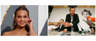 """Alicia Vikander e Michael Fassbender apaixonaram-se """"facilmente"""""""