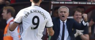 Mourinho deu ordem para Ibrahimovic tirar férias 'a la carte'