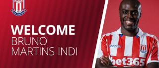 Oficial: Bruno Martins Indi assina pelo Stoke City