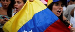 Venezuelanos aproveitaram greve para se abastecerem de alimentos