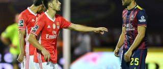 Bola parada fez 'águia' descolar num jogo fechado a sete 'Chaves'
